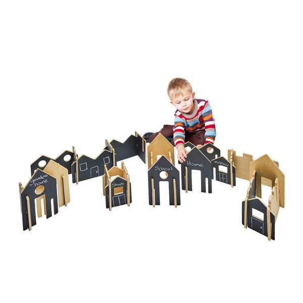 Steckspiel-Haus