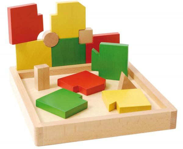 Holzpuzzle-Geometrische-Formen