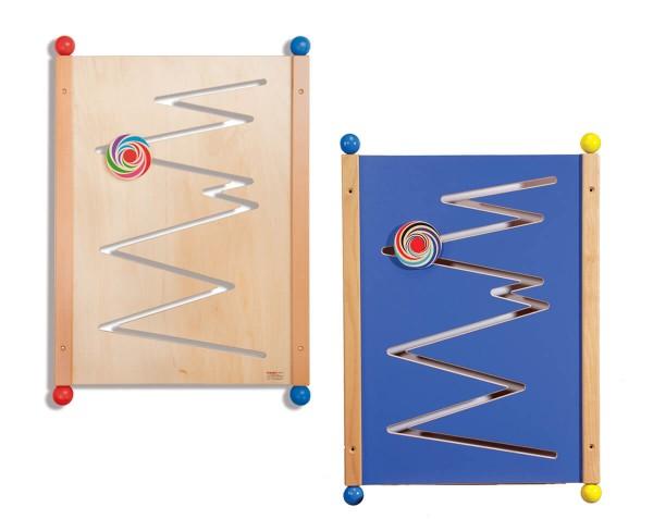 Wandspiel-Zick-Zack-Kurven