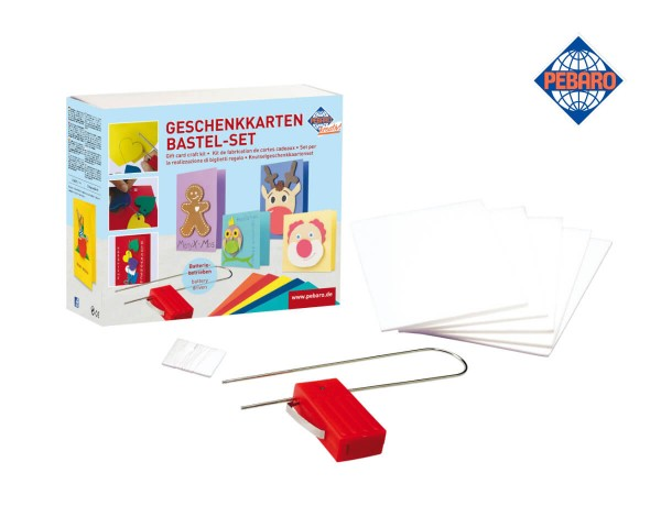 Pebaro Geschenkkarten Bastel-Set