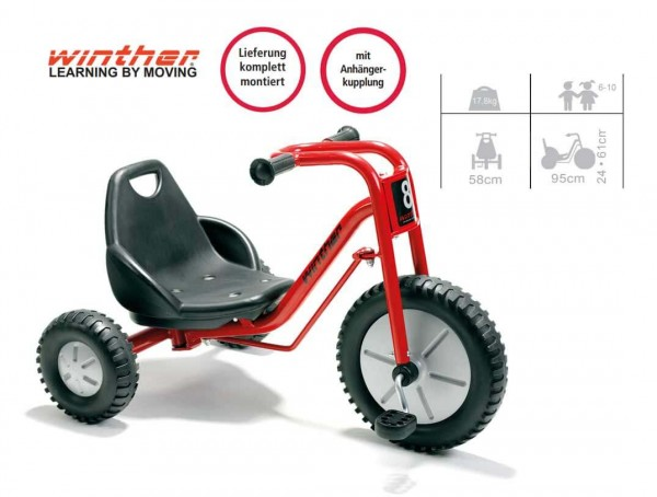 WINTHER-Dreirad-Zlalom-Tricycle-Large