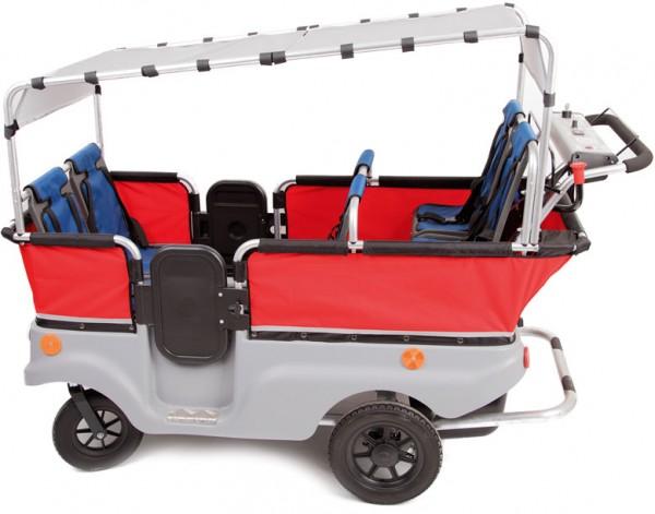 Sonnenschutz für WINTHER E-Turtle Kinderbus - 2er Set