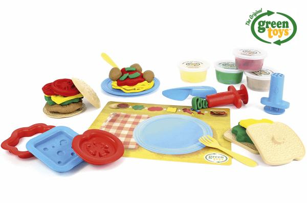 Spiellebensmittel-aus-Öko-Knete