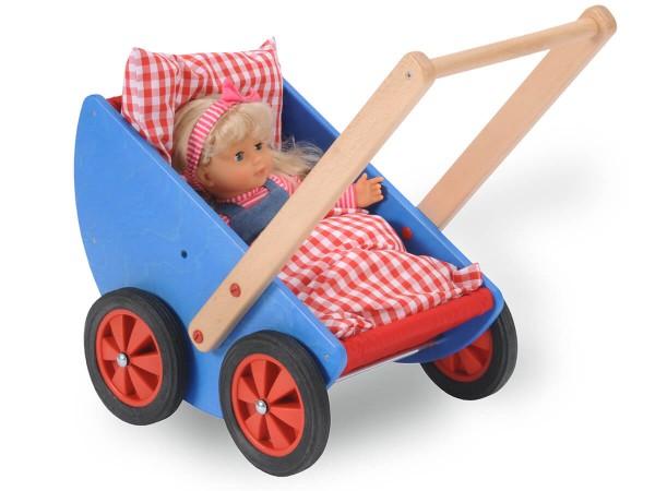 Puppenwagen-mit-kissen-und-decke