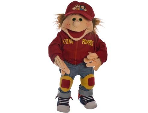 Living Puppets Handpuppe Lutzi der Skater 65 cm