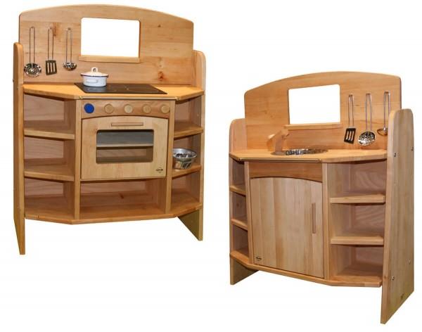Kinderküche-Erlenholz