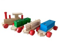Eisenbahn-aus-Holz