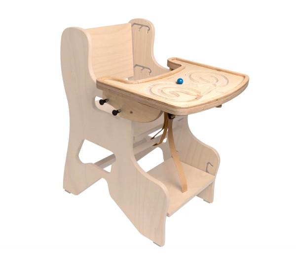 """Spieltisch und Esstisch für Kinderhochstuhl """"Anni"""""""