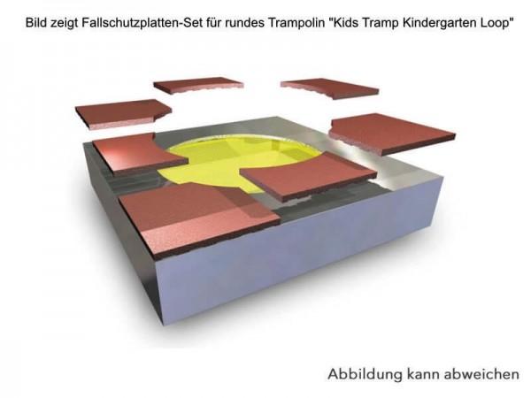 Fallschutzplatten-Bodentrampolin