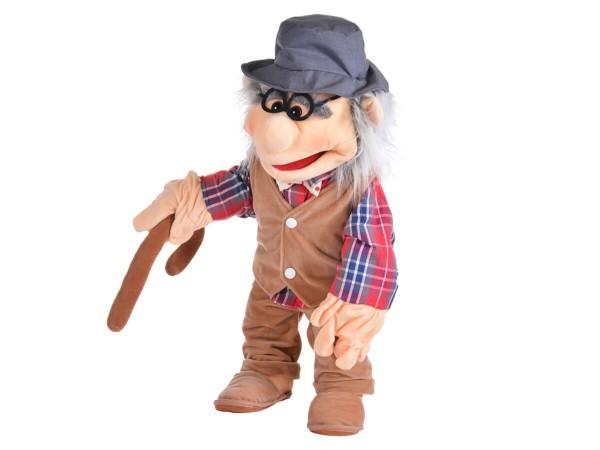 Handpuppe-Großvater-haidig