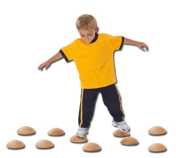 Halbkugeln-für-Balanceübungen