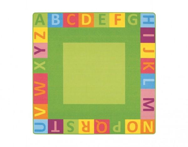 Kinderteppich-Alphabet