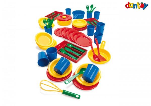 Spielgeschirr-Ess-Service-für-12- Kinder