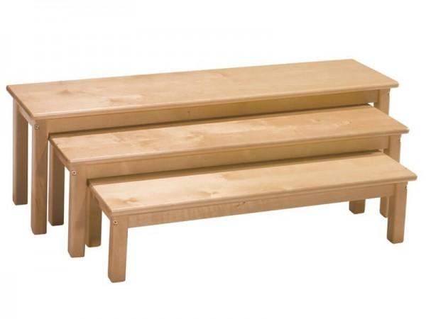 Sitzbank-Birke-Massivholz