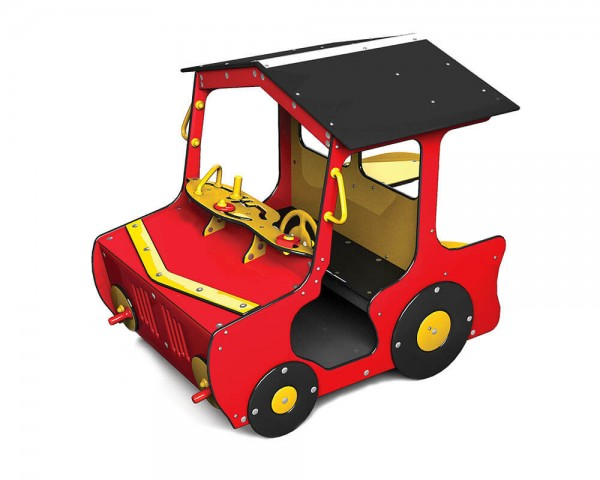 Spielhaus-im-Traktor-Design
