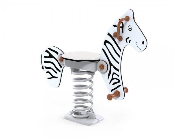 Federwippe-Zebra